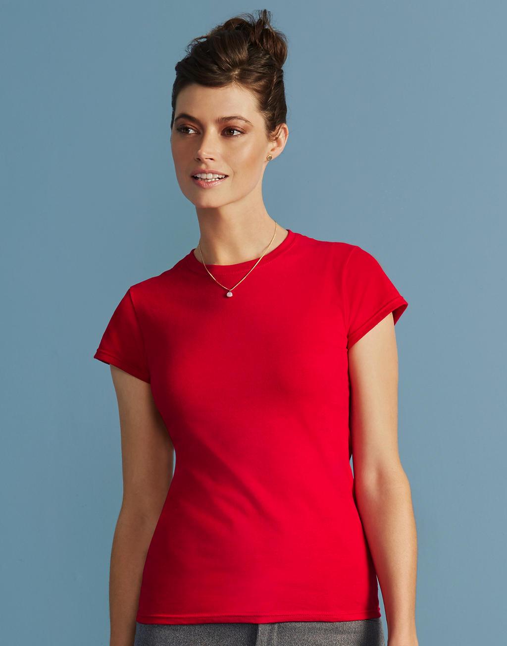 64000L SOFTSTYLE® LADIES tričko