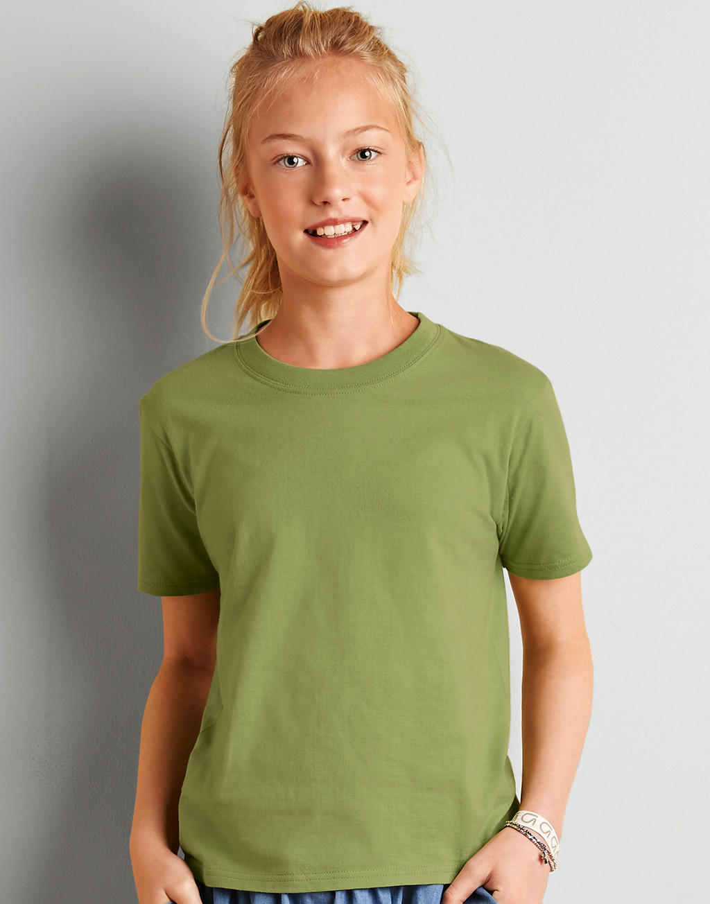 64000B SOFTSTYLE® YOUTH tričko