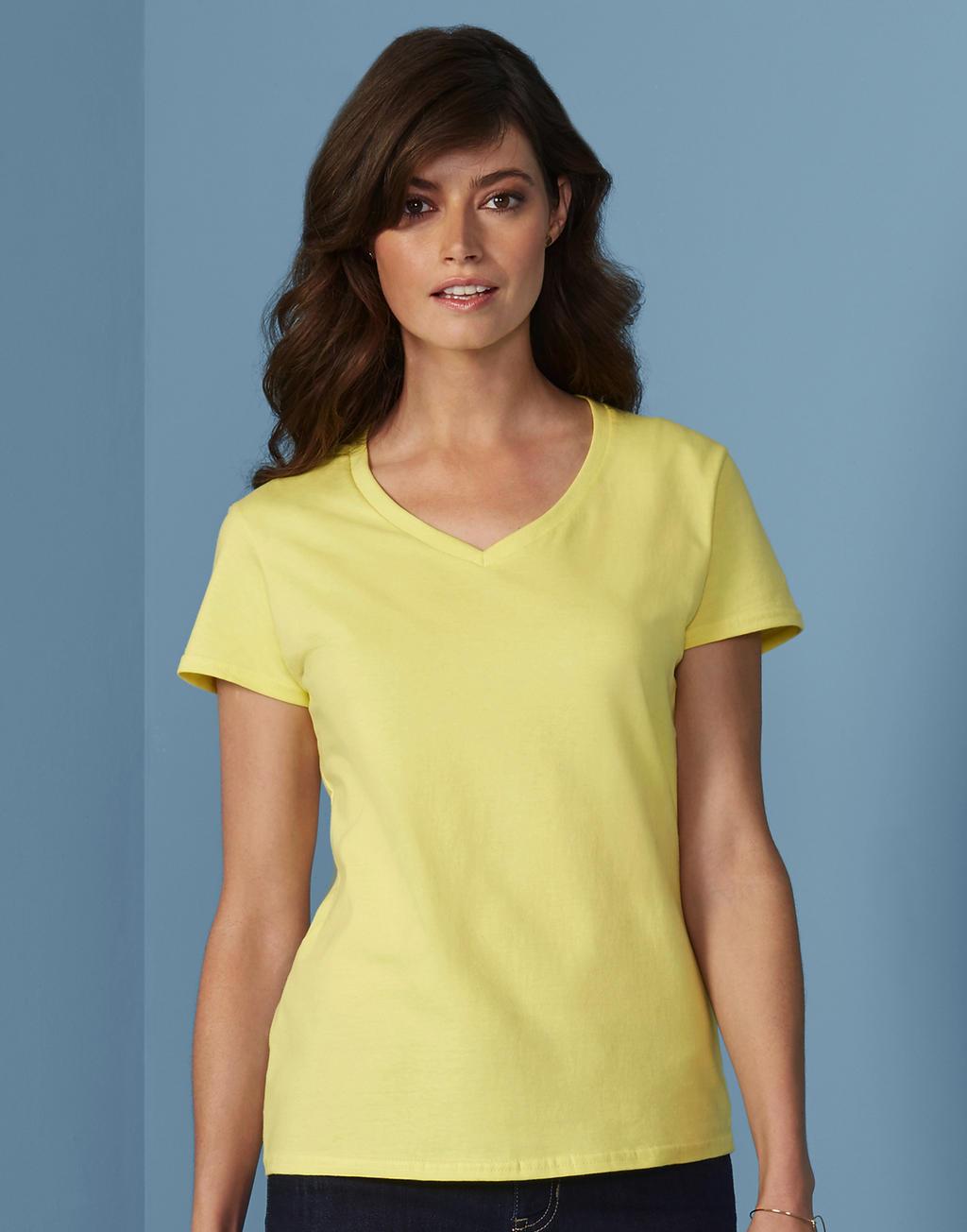 4100VL PREMIUM COTTON® LADIES v-neck tričko