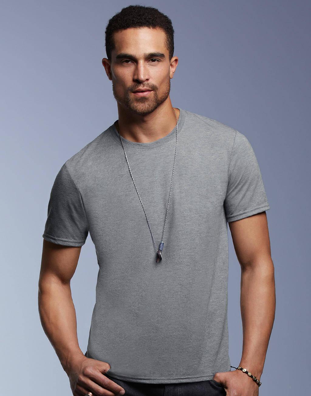 6750 Pánske tričko Tri-Blend