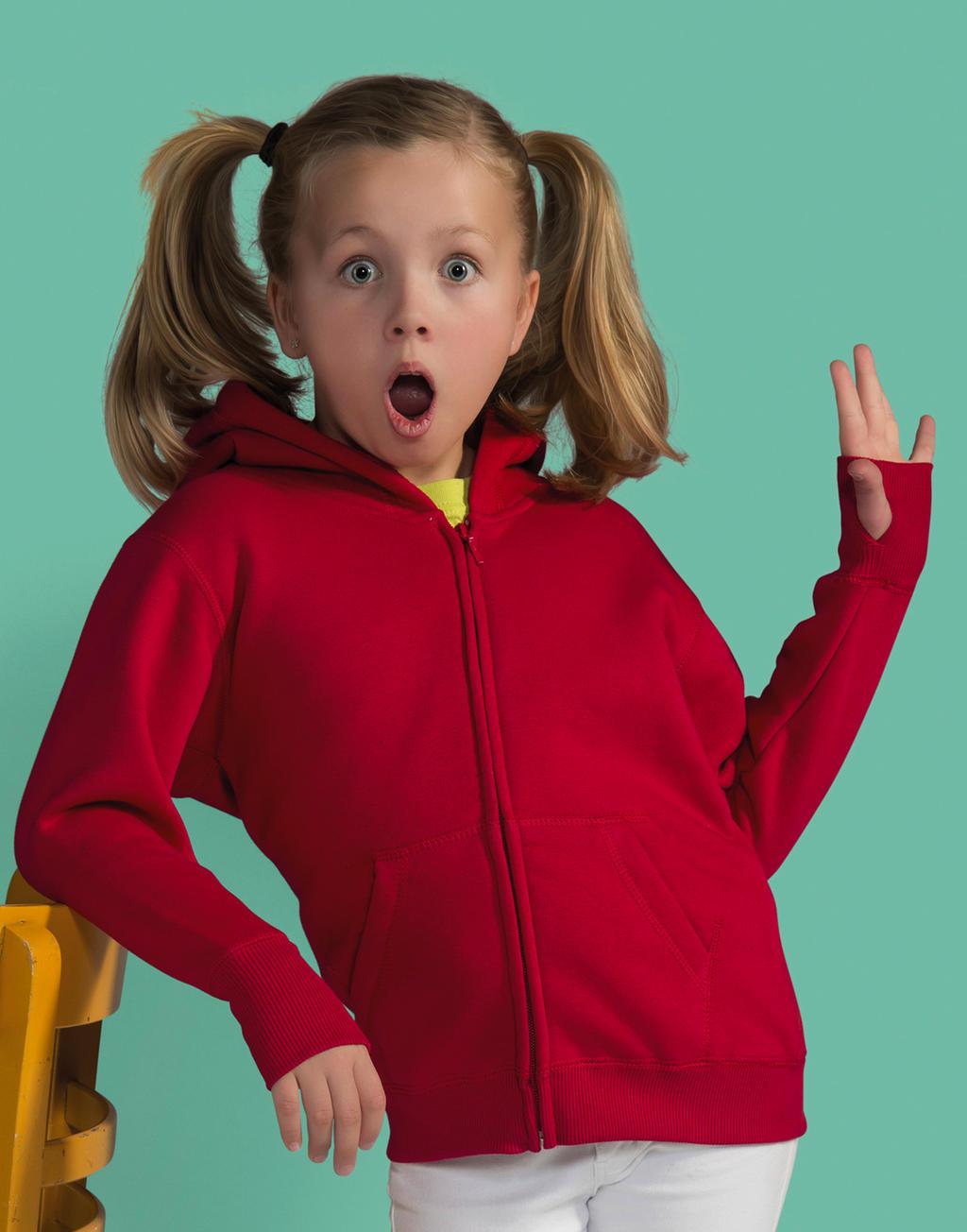 SG28K Detská mikina s kapucňou