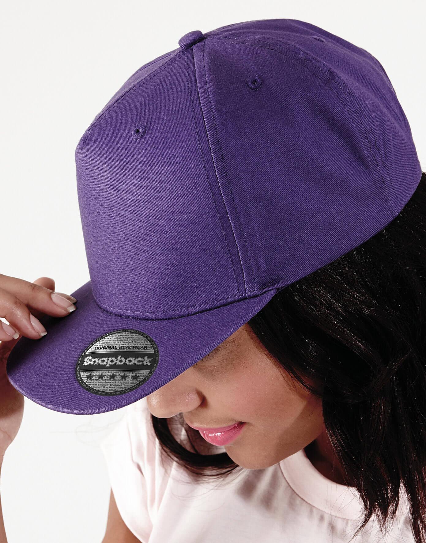 B610 Šiltovka 5 Panel Snapback Rapper