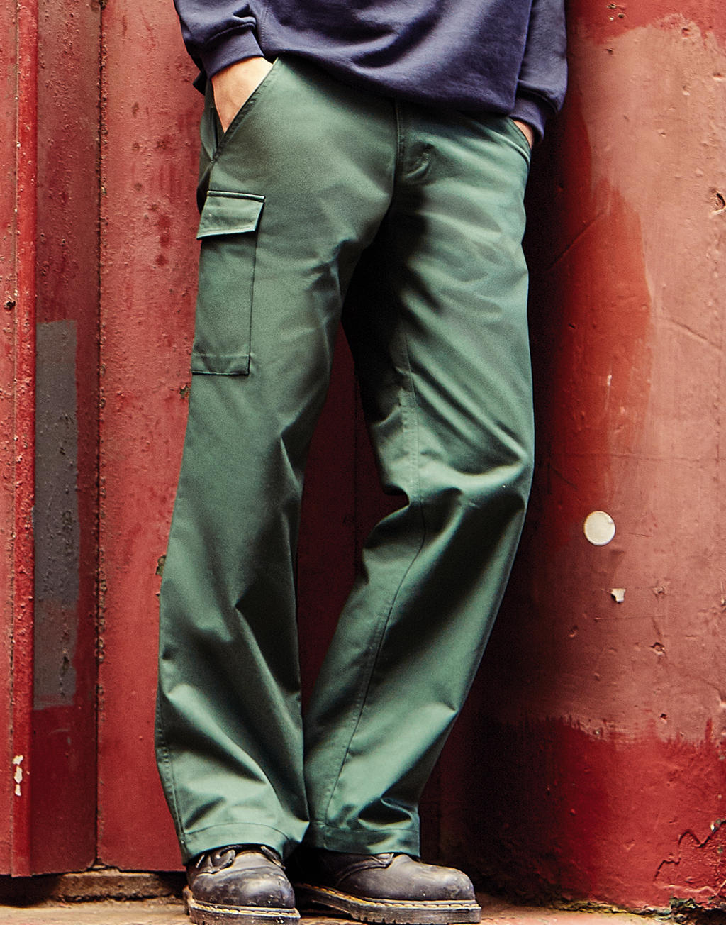 "R-001M-0 Nohavice Twill Workwear dĺžka 34"""